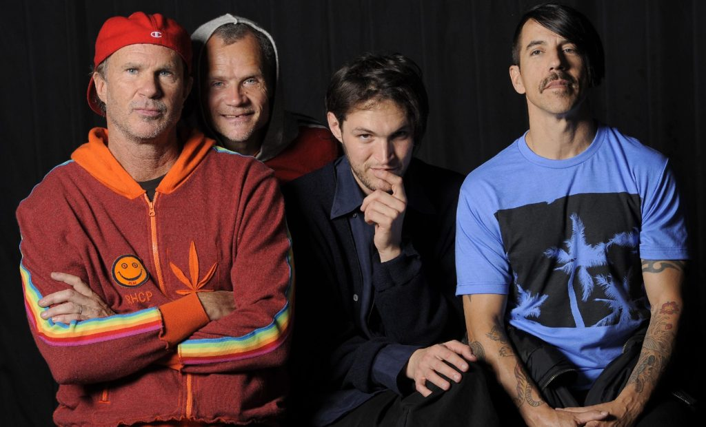 Chad, Flea, Josh and Anthony still keepin' it real. Look forward to the next album!