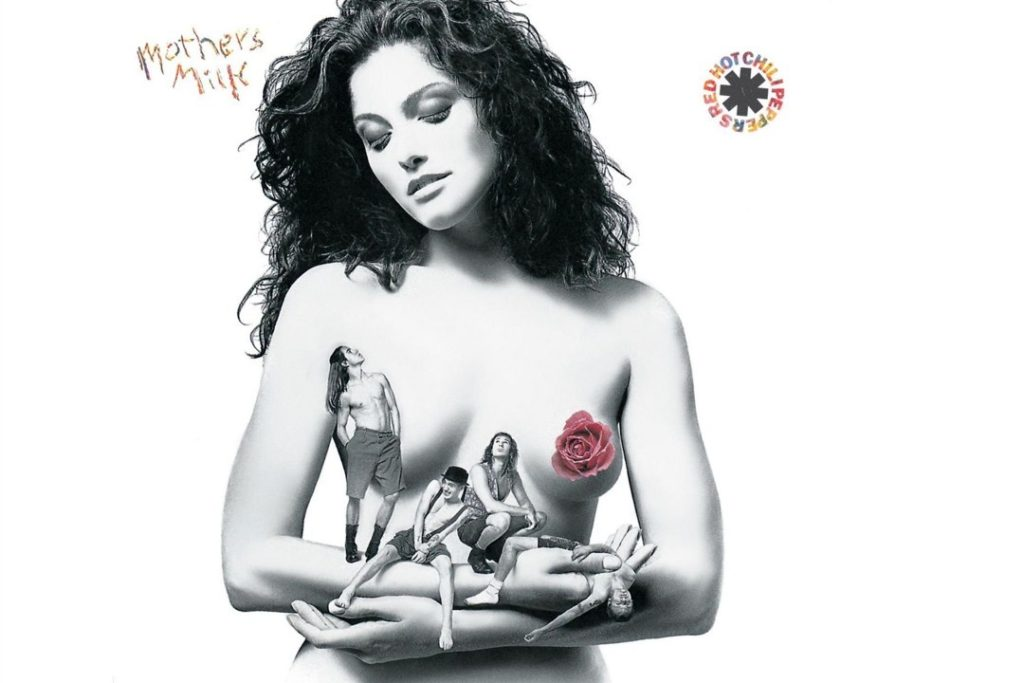 I have always been fascinated by the cover of Mother's Milk. I adore the model Dawn Alane's hair!