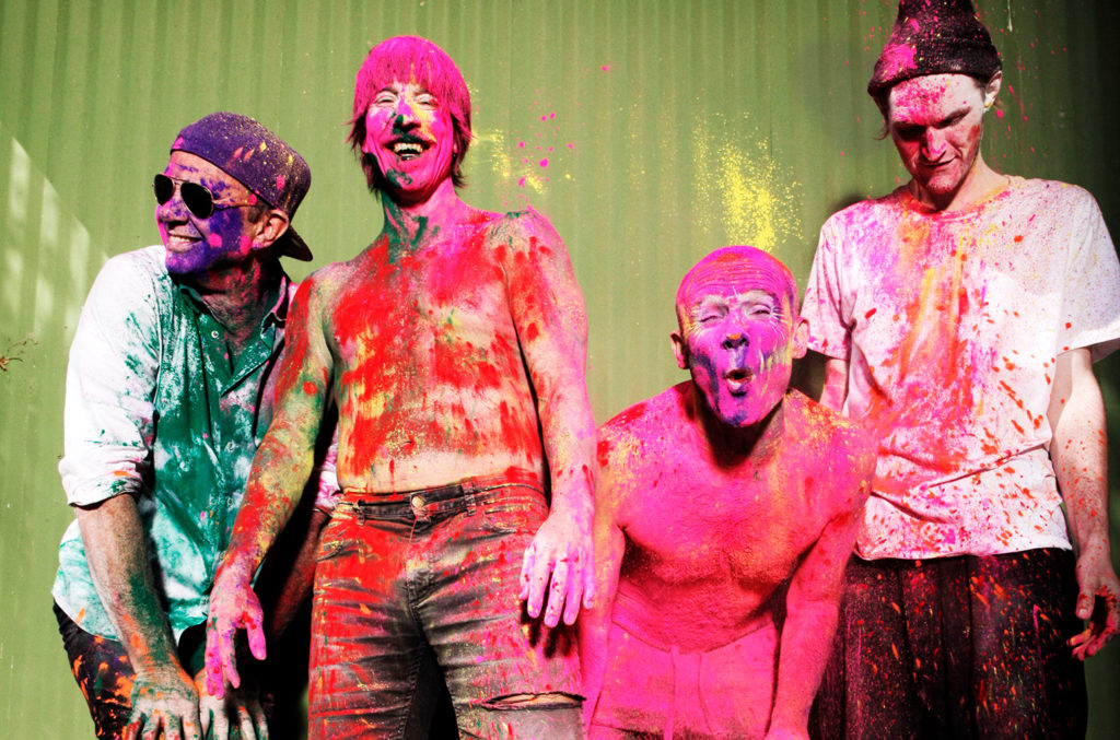 The current line-up: Chad Smith (drums), Anthony Kiedis (vocals), Flea (bass) and Josh Klinghoffer (guitar)