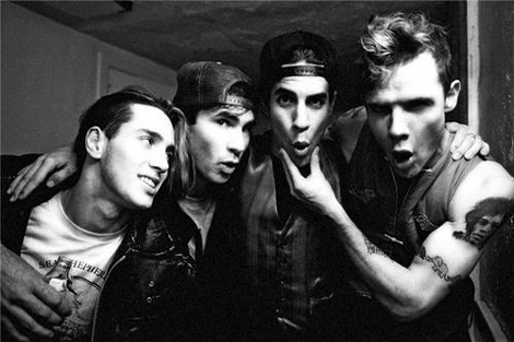 I couldn't tell you if this was during Mother's Milk era or Blood Sugar Sex Magik, but this is a young John with Chad, Anthony and Flea.
